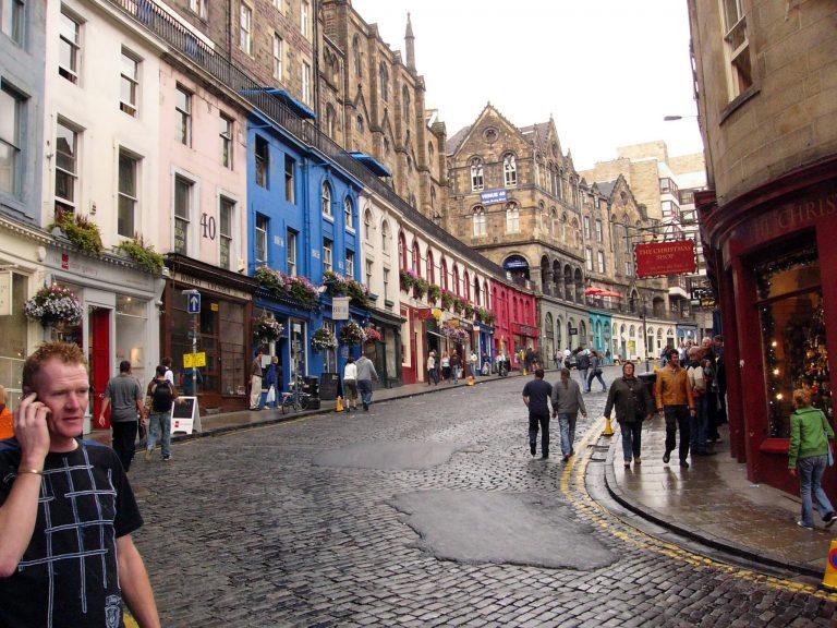 Victoria Street - Edimburgo