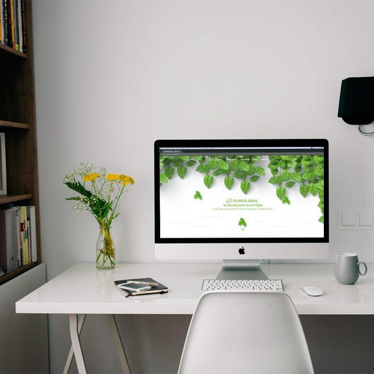 Diseño web Gijón Plantasana