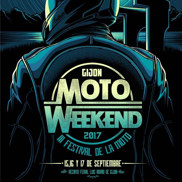 Gijon Motoweekend 2017 - Festival de la moto en Gijón