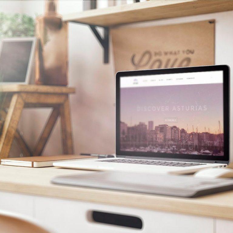 Living Asturias web design