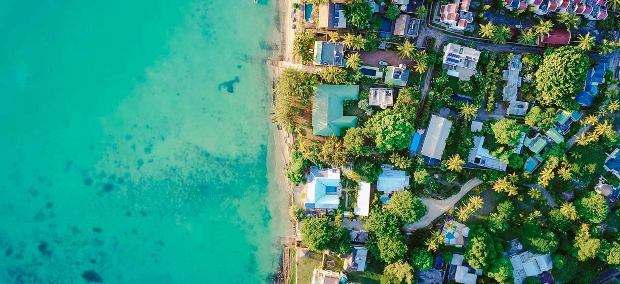 Fotografia aerea per immobili e turismo