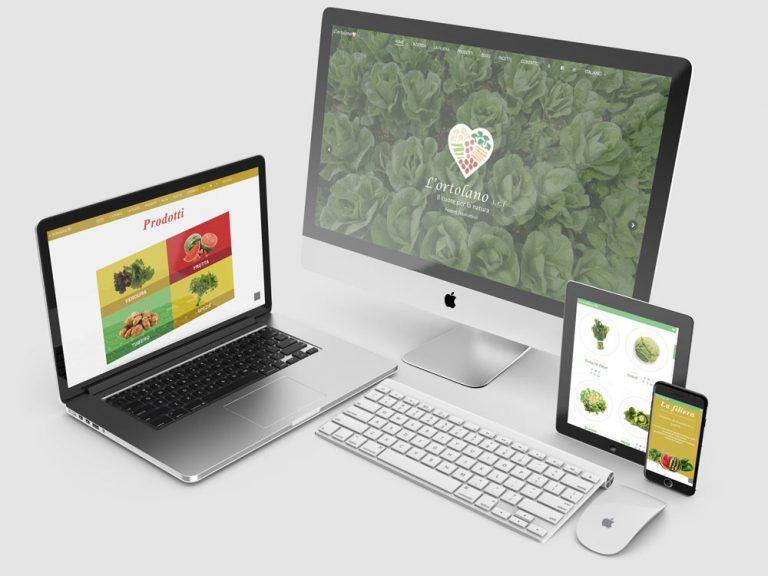 Imagen de la Web corporativa L'Ortolano