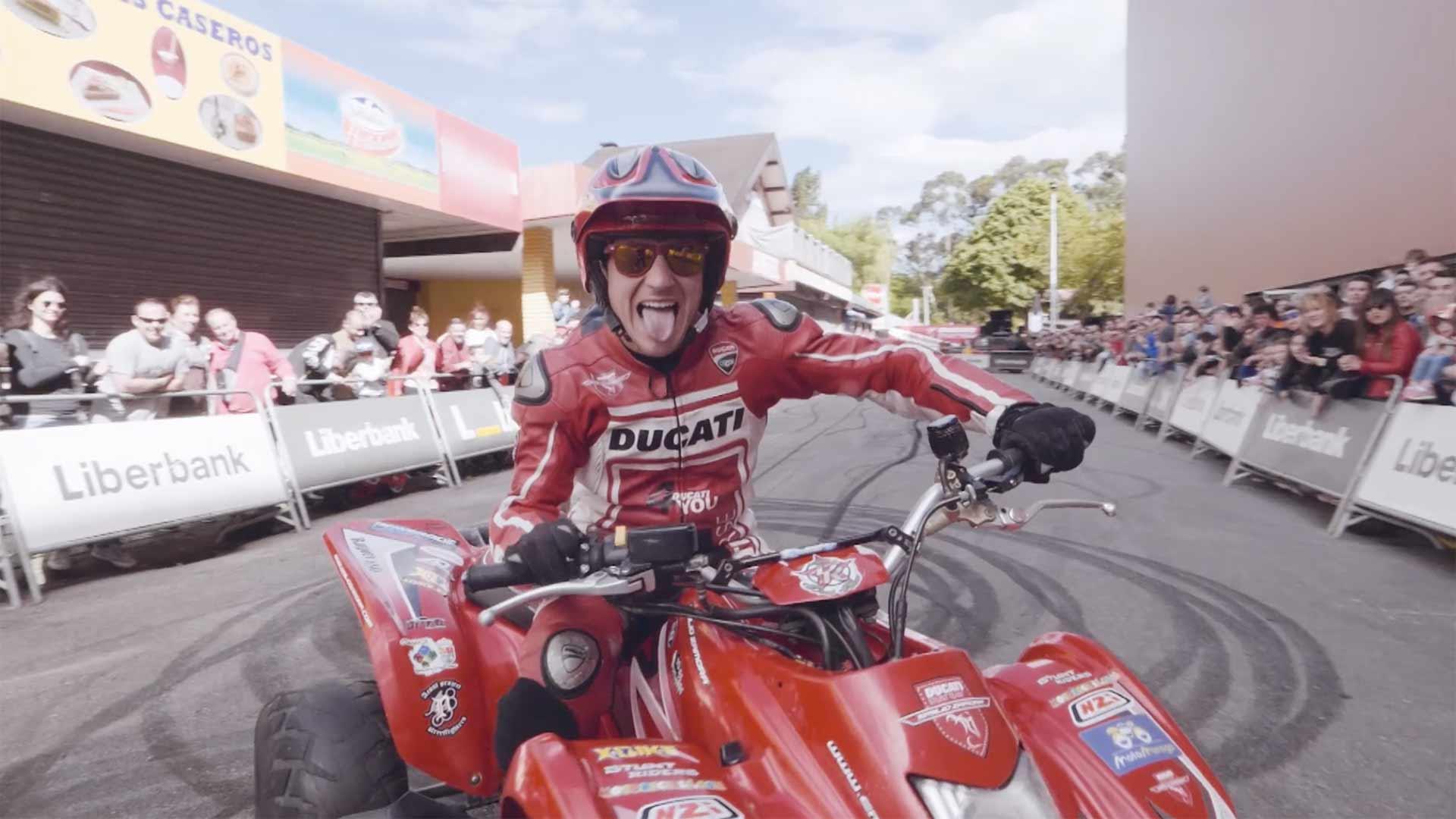 Imagen del festival de motos motoweekend gijon