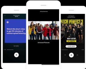 Sesión patrocinada en Spotify